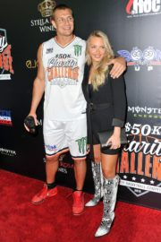 Camille Kostek at Monster Energy Charity Basketball Game in Westwood 2019/07/08 5