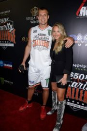 Camille Kostek at Monster Energy Charity Basketball Game in Westwood 2019/07/08 6
