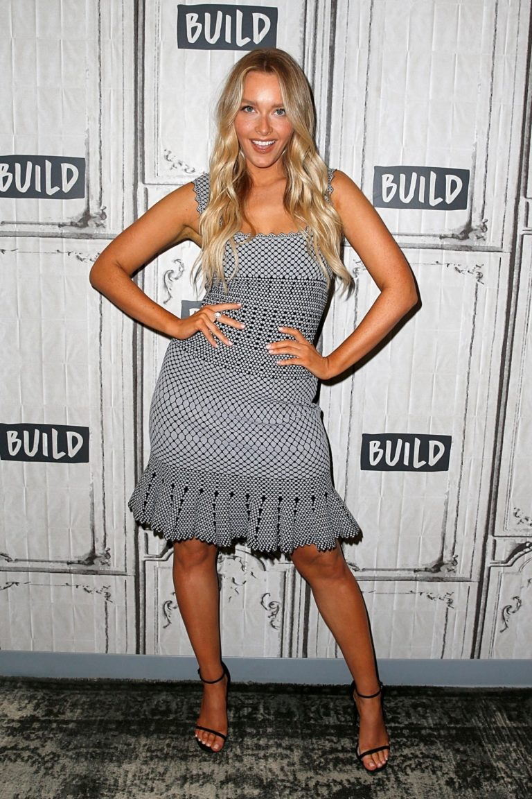 Camille Kostek attends Build Series in New York 2019/05/08 1