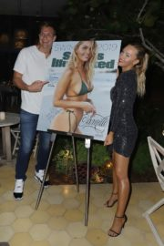 Camille Kostek attends SI Swimsuit 2019 Party in Miami Beach 2019/05/09 3