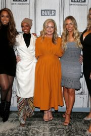 Camille Kostek, Hunter McGrady, Tyra Banks, Halima Aden and MJ Day discuss Build Series in New York 2019/05/08 1