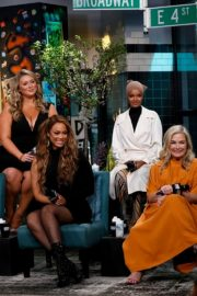 Camille Kostek, Hunter McGrady, Tyra Banks, Halima Aden and MJ Day discuss Build Series in New York 2019/05/08 3