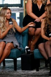 Camille Kostek, Hunter McGrady, Tyra Banks, Halima Aden and MJ Day discuss Build Series in New York 2019/05/08 6