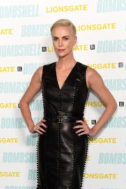 """Charlize Theron attends BAFTA Q&A for """"Bombshell"""" in London 2019/12/03 4"""