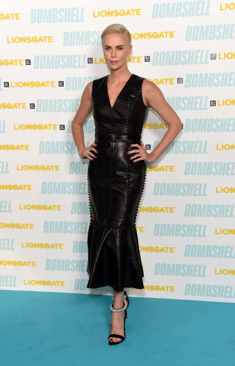"Charlize Theron attends BAFTA Q&A for ""Bombshell"" in London 2019/12/03 9"