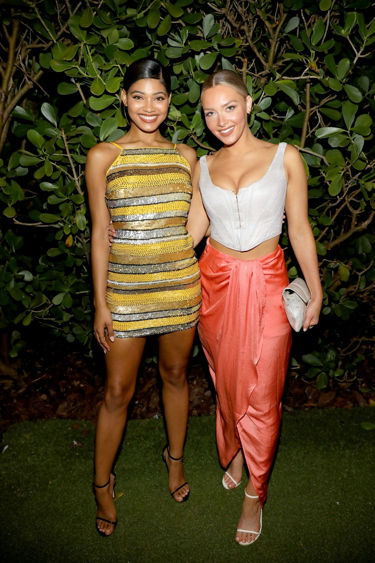 Danielle Herrington and Camille Kostek attends SI Swimsuit Miami Swim Week Kickoff Party in Miami 2019/07/12 4