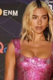 Dua Lipa looks incredibly glamorous as she attends Mnet Asian Music Award in Japan 2