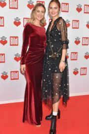 Elena Carriere and Carmen Kroll attend Ein Herz fur Kinder Gala in Berlin 2019/12/07 1