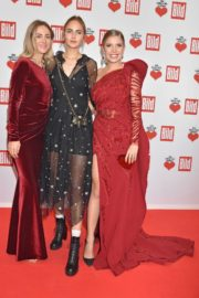 Elena Carriere and Carmen Kroll attend Ein Herz fur Kinder Gala in Berlin 2019/12/07 2