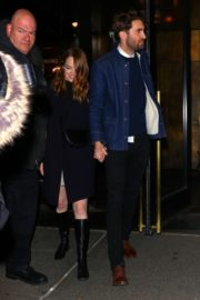 Emma Stone and her partner Dave McCary out the SNL afterparty in New York 2019/12/07 7