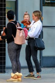 Hilary Duff with her daughter Stormi Webster out in Sherman Oaks 2019/12/19 13