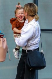 Hilary Duff with her daughter Stormi Webster out in Sherman Oaks 2019/12/19 14