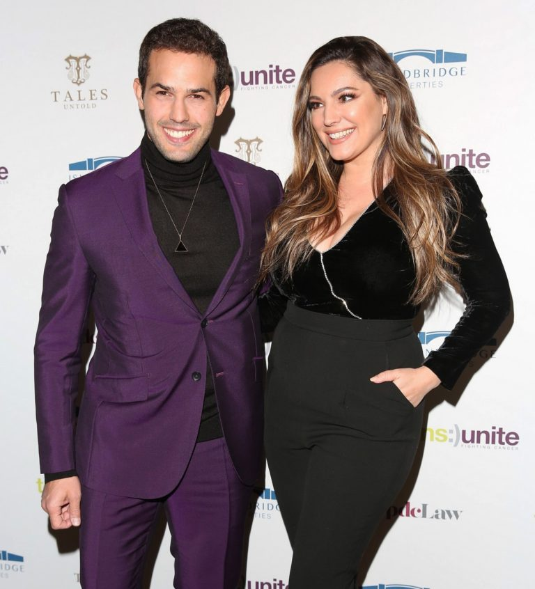 Kelly Brook with her friend Cruel attend Teens Unite Annual Fundraising Gala in London 2019/11/29 4