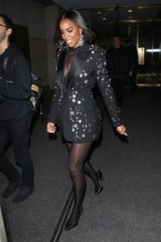 Kelly Rowland seen in black outfit outside The Today Show in New York 2091/11/26 4