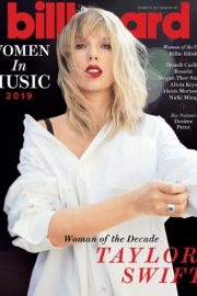 Taylor Swift: Billboard's Woman of the Decade covers Women in Music 2019 Issue 1