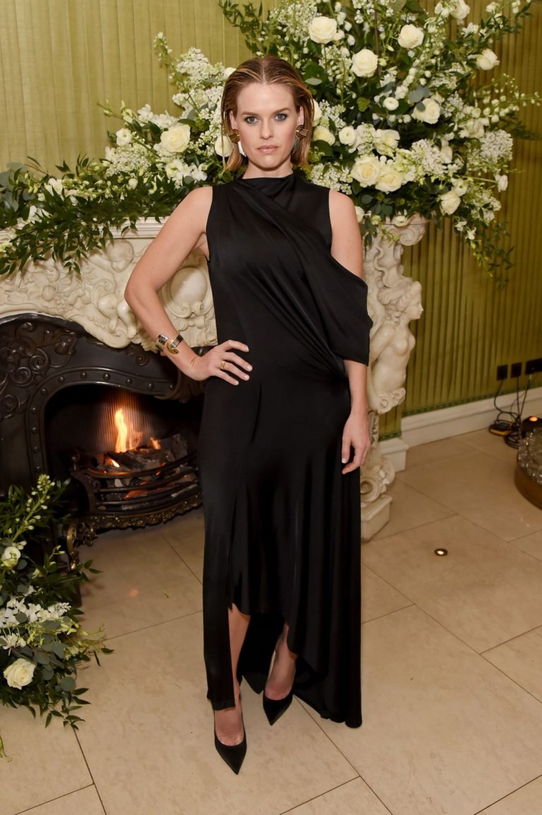 Alice Eve attends British Vogue and Tiffany & Co. Fashion and Film Party in London 2020/02/03 1