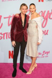 Ava Michelle and Luke Eisner attend Netflix Premiere 'To All the Boys: P.S. I Still Love' in Hollywood 2020/02/03 1