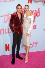 Ava Michelle and Luke Eisner attend Netflix Premiere 'To All the Boys: P.S. I Still Love' in Hollywood 2020/02/03 3