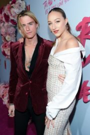 Ava Michelle and Luke Eisner attend Netflix Premiere 'To All the Boys: P.S. I Still Love' in Hollywood 2020/02/03 4