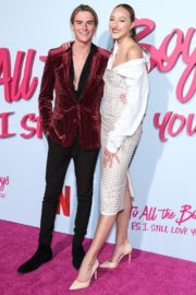 Ava Michelle and Luke Eisner attend Netflix Premiere 'To All the Boys: P.S. I Still Love' in Hollywood 2020/02/03 8