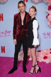 Ava Michelle and Luke Eisner attend Netflix Premiere 'To All the Boys: P.S. I Still Love' in Hollywood 2020/02/03 16