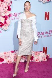 Ava Michelle attends Netflix Premiere 'To All the Boys: P.S. I Still Love' in Hollywood 2020/02/03 21