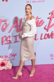 Ava Michelle attends Netflix Premiere 'To All the Boys: P.S. I Still Love' in Hollywood 2020/02/03 23