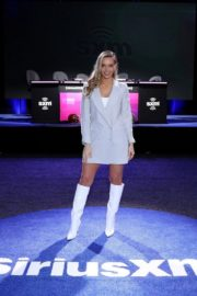 Camille Kostek attends SiriusXM at Super Bowl LIV in Miami 2020/01/30 7