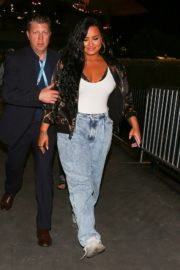Demi Lovato leaves after her performance at the Super Bowl in Miami 2020/02/02 6