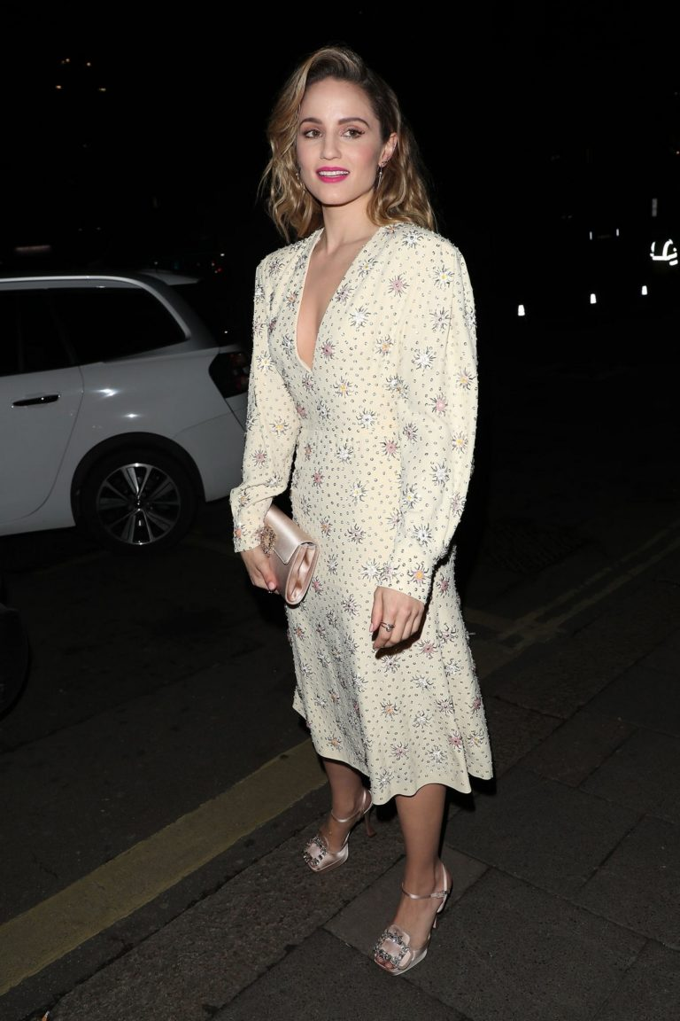 Dianna Agron arrives Vogue x Tiffany Fashion & Film after party in London 2020/02/02 1