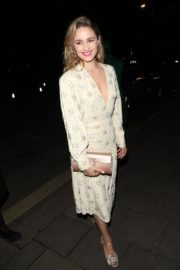 Dianna Agron arrives Vogue x Tiffany Fashion & Film after party in London 2020/02/02 2