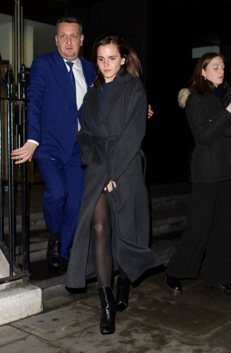 Emma Watson leaves C Restaurant in London 2020/01/30 1