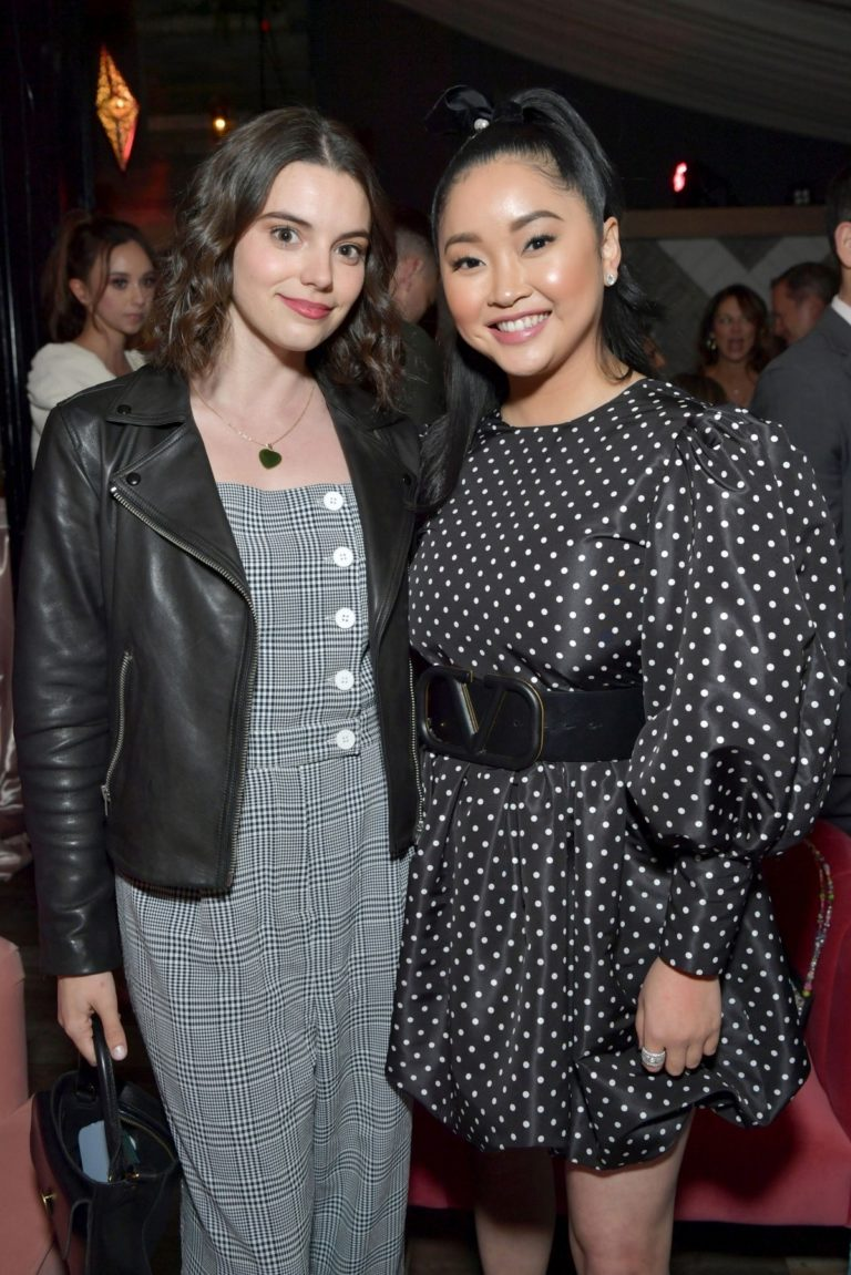 "Francesca Reale and Lana Condor attends ""To All The Boys: P.S. I Still Love You"" at Egyptian Theatre 2020/02/03 2"