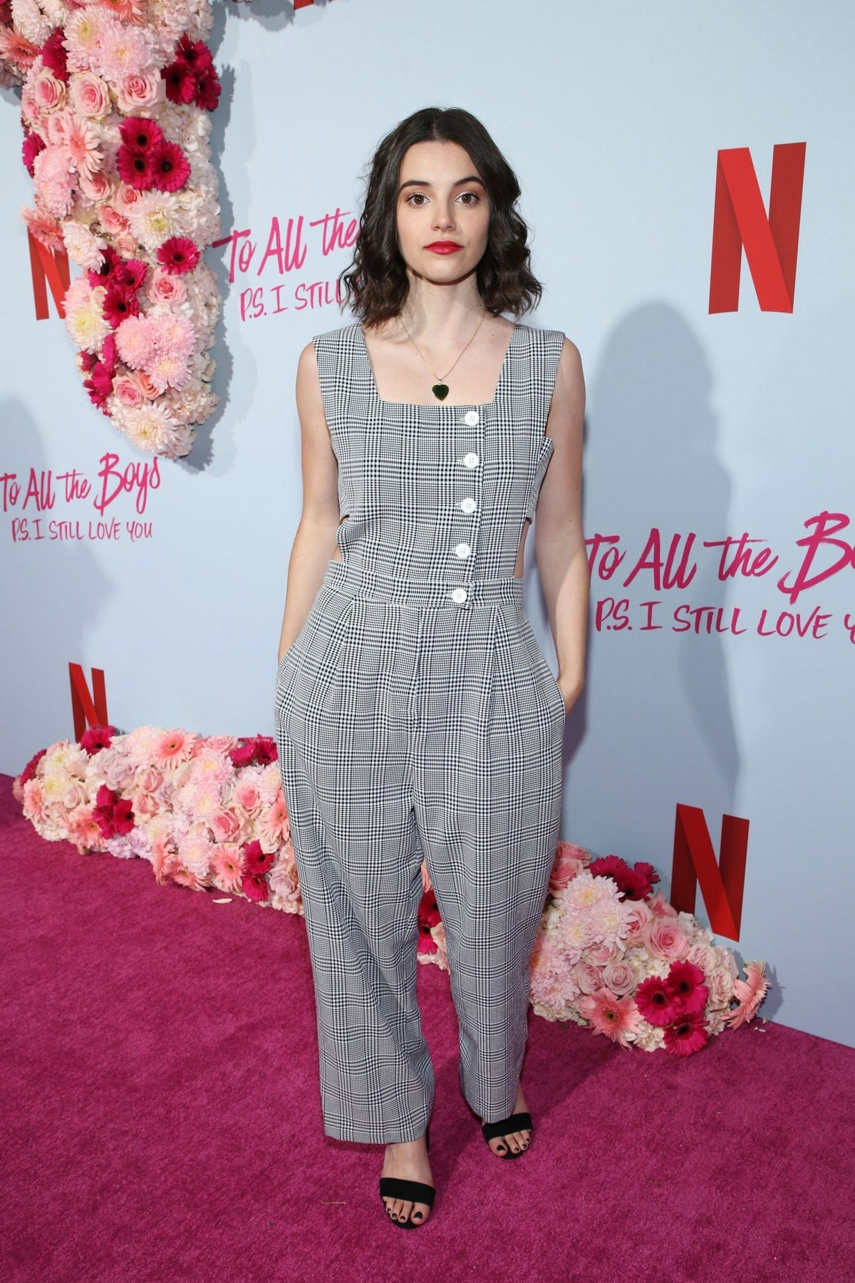 Francesca Reale attends Premiere of Netflixs To All The