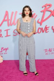 "Francesca Reale attends Premiere of Netflix's ""To All The Boys: P.S. I Still Love You"" at the Egyptian Theatre 2020/02/03 7"