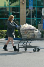 Ariel Winter flashes beautiful legs during a trip to Gelson's in Los Angeles, California 2020/03/29 11