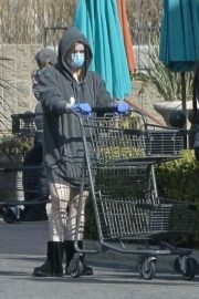 Ariel Winter flashes beautiful legs during a trip to Gelson's in Los Angeles, California 2020/03/29 12