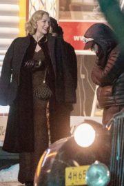 Cate Blanchett on the set of 'Nightmare Alley' in Toronto 2020/01/30 1