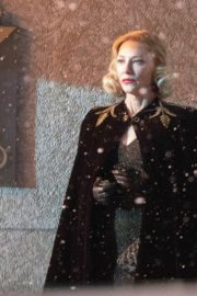 Cate Blanchett on the set of 'Nightmare Alley' in Toronto 2020/01/30 2