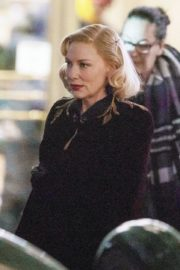 Cate Blanchett on the set of 'Nightmare Alley' in Toronto 2020/01/30 6