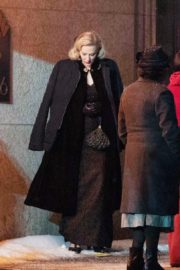 Cate Blanchett on the set of 'Nightmare Alley' in Toronto 2020/01/30 7