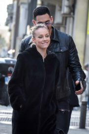 Ester Exposito with her boyfriend Alejandro Speitzer out in Madrid 2020/02/29 1
