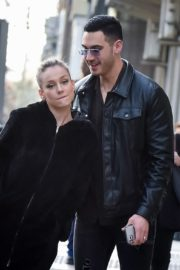 Ester Exposito with her boyfriend Alejandro Speitzer out in Madrid 2020/02/29 2