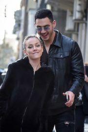 Ester Exposito with her boyfriend Alejandro Speitzer out in Madrid 2020/02/29 4