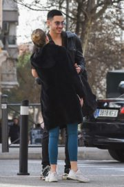 Ester Exposito with her boyfriend Alejandro Speitzer out in Madrid 2020/02/29 5
