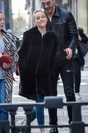 Ester Exposito with her boyfriend Alejandro Speitzer out in Madrid 2020/02/29 6