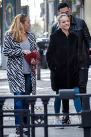 Ester Exposito with her boyfriend Alejandro Speitzer out in Madrid 2020/02/29 7