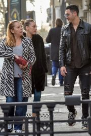 Ester Exposito with her boyfriend Alejandro Speitzer out in Madrid 2020/02/29 8