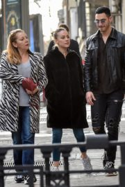 Ester Exposito with her boyfriend Alejandro Speitzer out in Madrid 2020/02/29 9