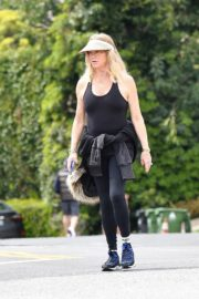 Goldie Hawn and Boston Russell out and about in Brentwood 2020/03/25 16